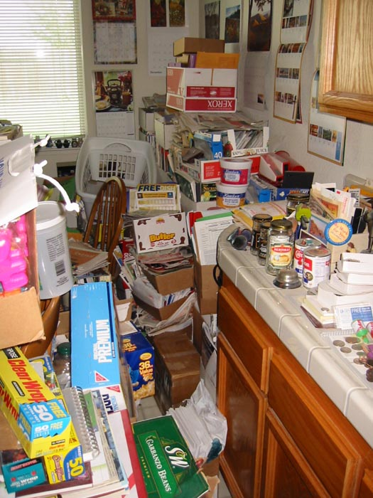 how to speed clean a messy house